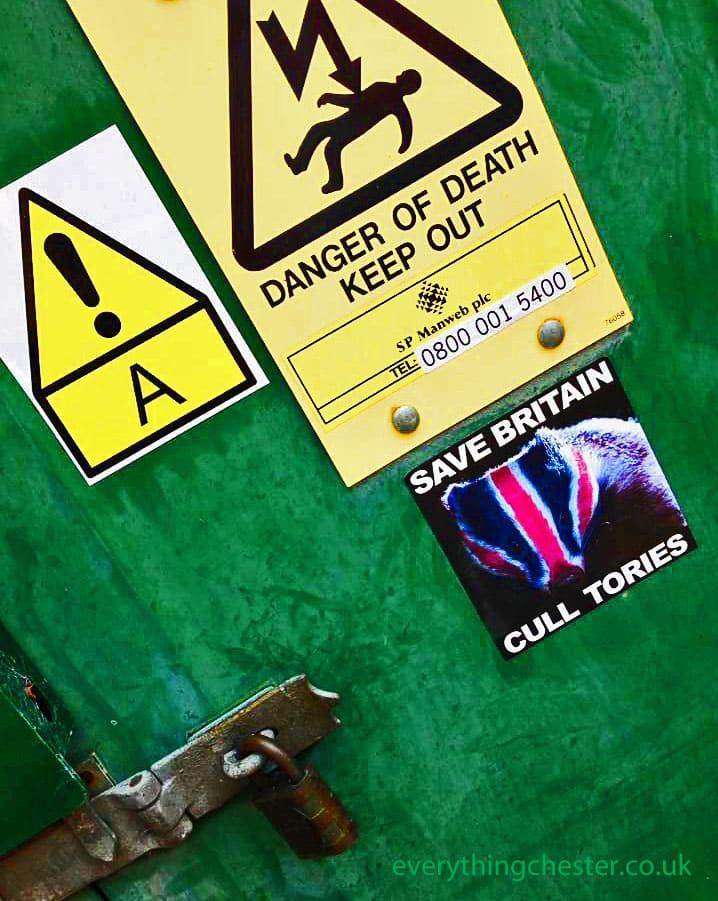 Catherine Street Chester Badger