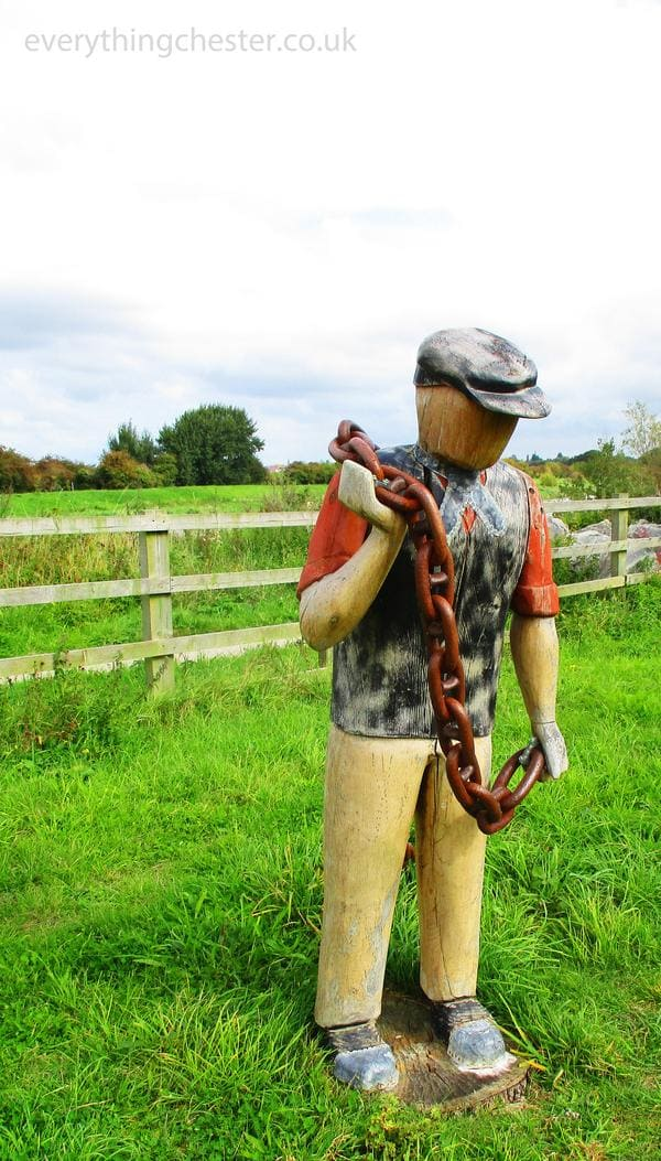 River Lane Saltney Chester Sculpture