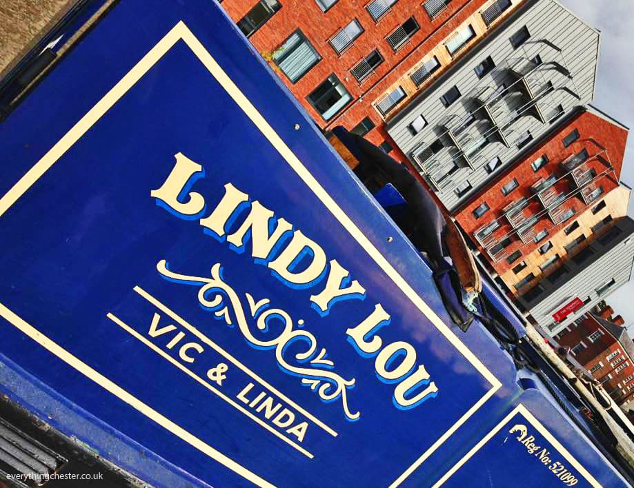Lindy Lou Canal Boat Chester Canal Basin