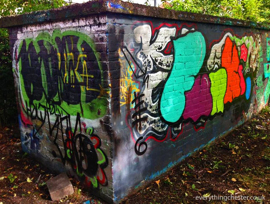 Graffiti Dave The Cop Park Chester