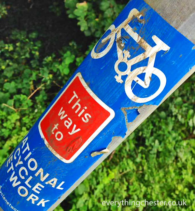 Chester Cheshire Cycle Path