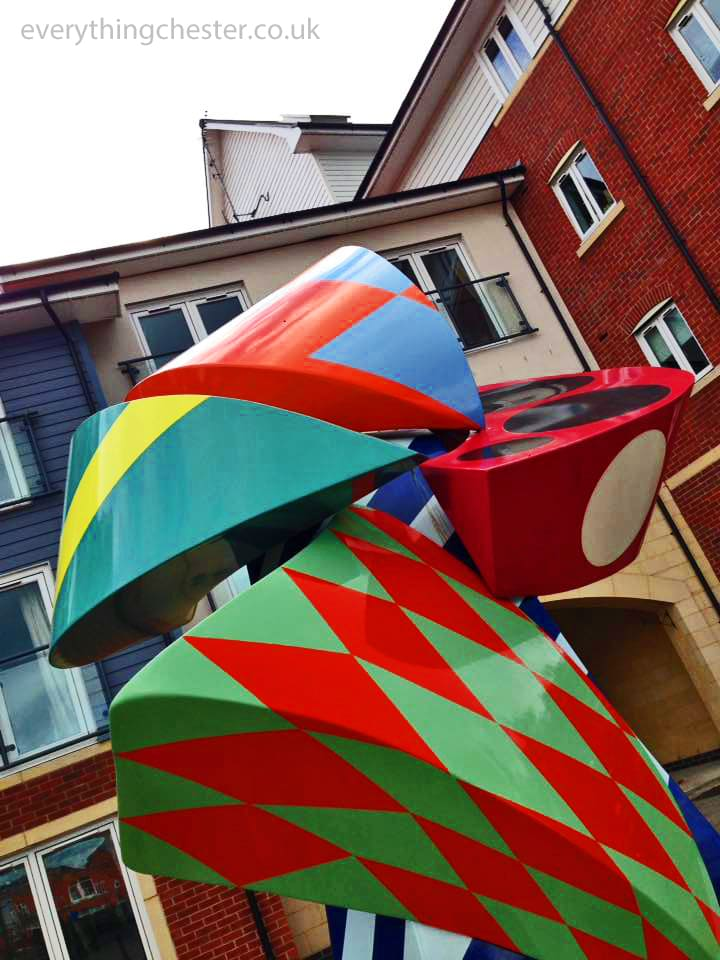 Saddlery Way Sculpture Chester