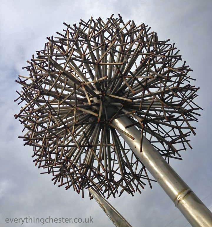 Saltney Chester River Dee Sculpture