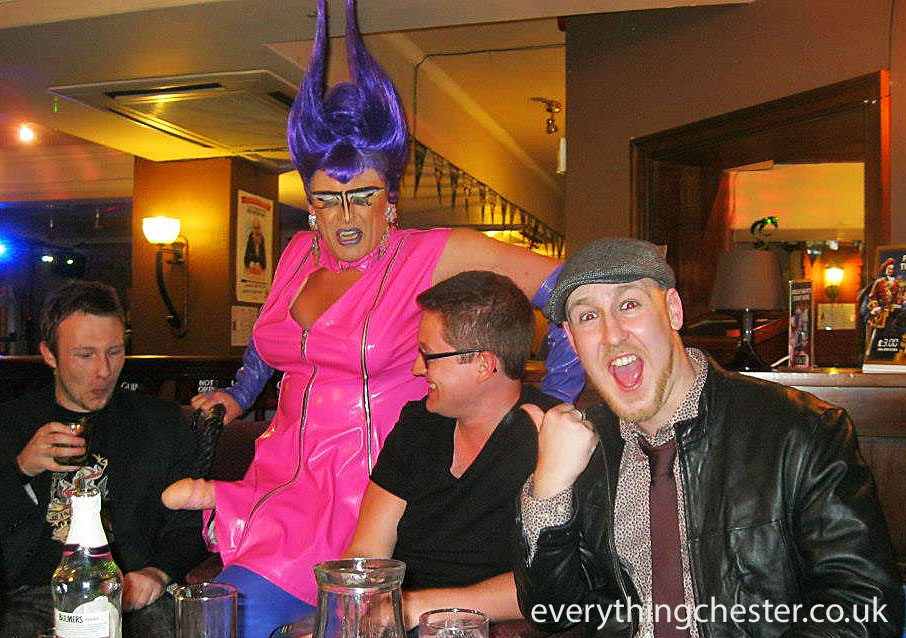 chester pride 2017 shagger the old queens head