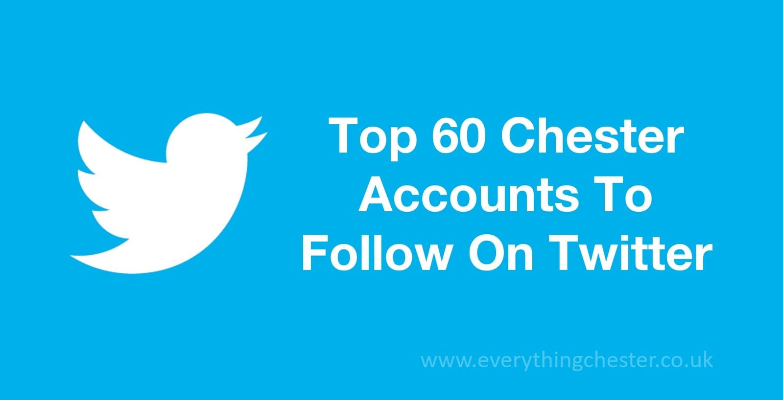Top Chester Influential Twitter Accounts To Follow